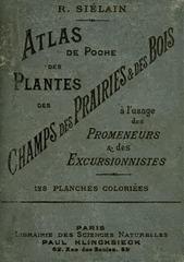 atlas de poche des plantes des champs prairies bois r sielain