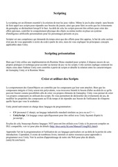 traduction unity manual