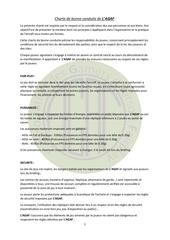 Fichier PDF charte de bonne conduite de l