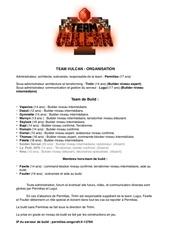 Fichier PDF team vulcan administration