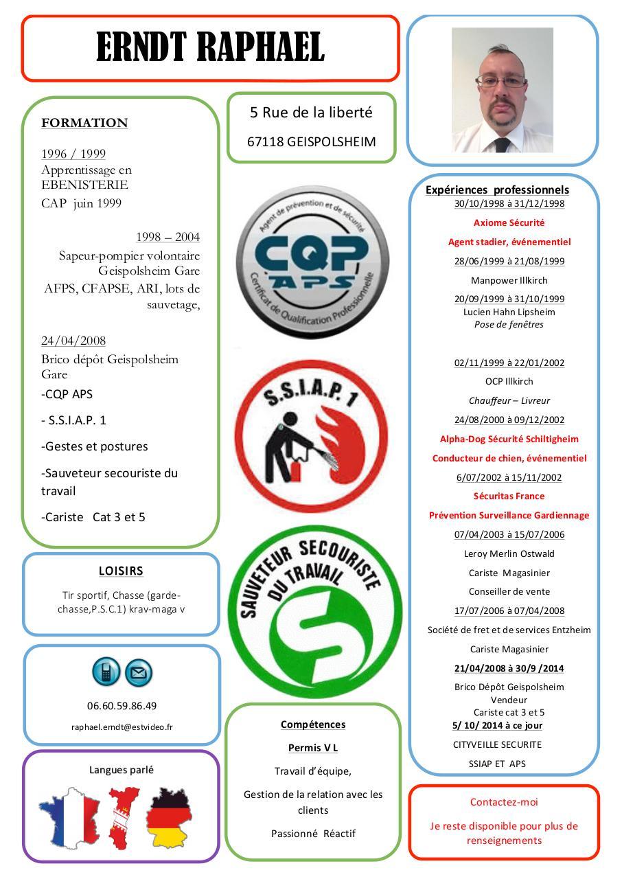 cv securite a jour docx - cv securite a jour pdf