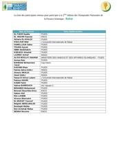 la liste des admis onfi rabat