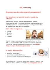 Fichier PDF plaquette client