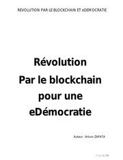 revolution par le blockchain et edemocratie