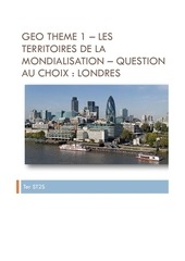 ter st2s geo theme 1 question au choix londres