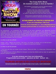 Fichier PDF the crazy kid s show
