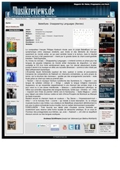 critique du cd babeleyes par musikreviews