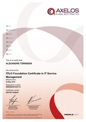 itilv3 certification