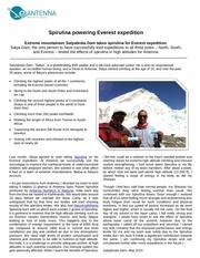 powering everest expedition