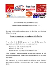 tract syndicale unitaire