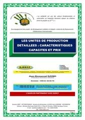 unites de production detaillees avec prix de l usine 2015