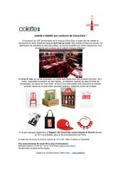 press release coke at colette