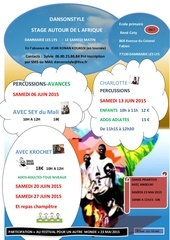 affiche stage multiple