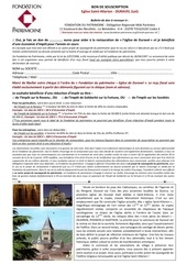Fichier PDF bon de souscription a4 recto eglise