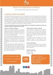 agoraexpat news letter mexique