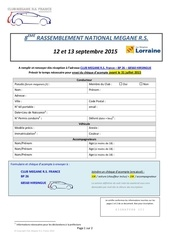 fiche inscription national 2015