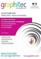 invitation au salon graphitec 2015