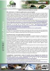 news otre idf 3 juin 2015