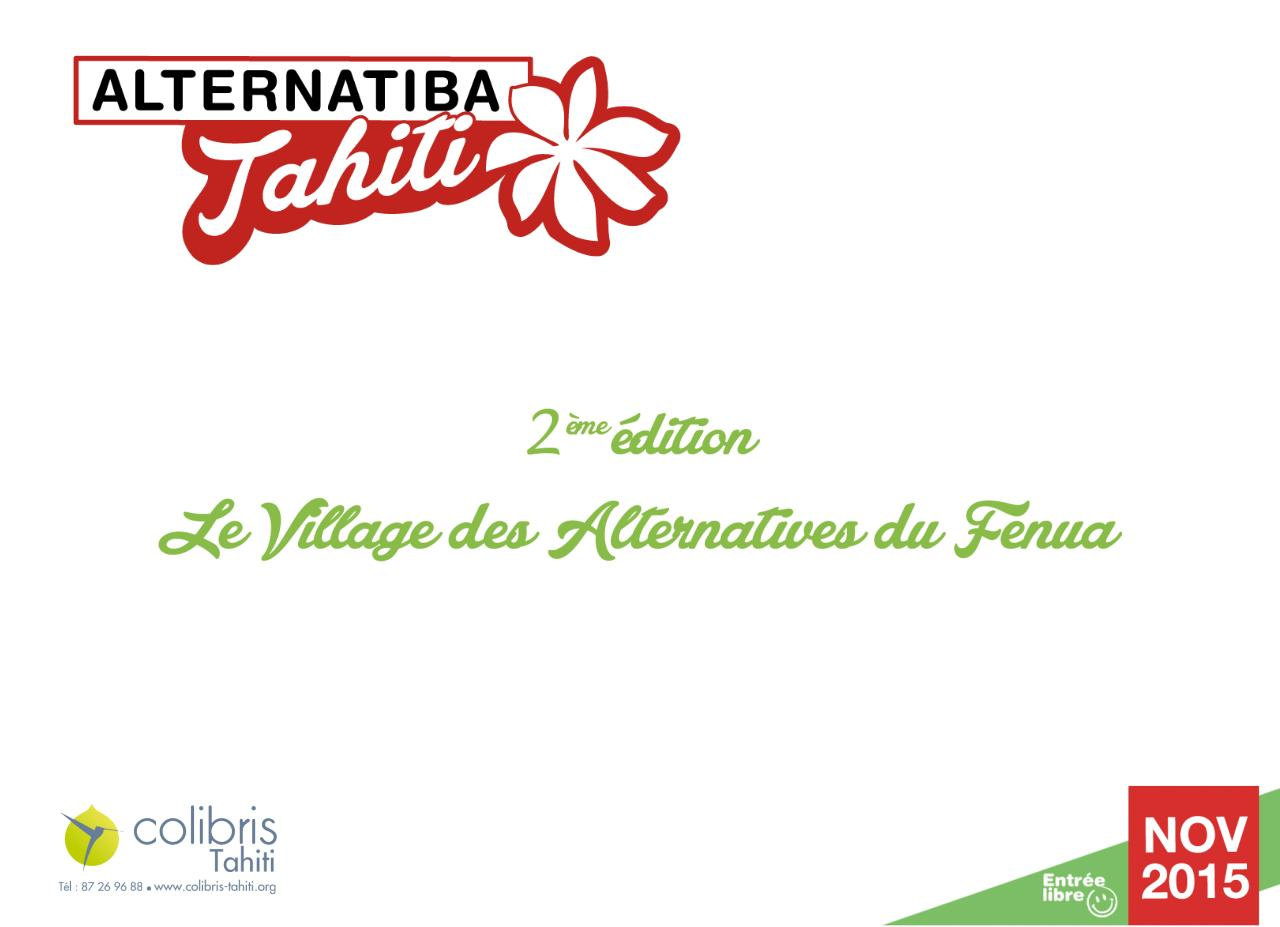 Aperçu du document PRESENTATION ALTERNATIBA TAHITI 2015.pdf - page 1/16