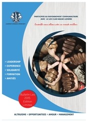 Fichier PDF journal annuel leo club dakar lumiere 1ere edition