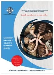 journal annuel leo club dakar lumiere 1ere edition
