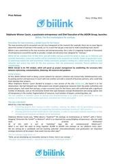 press release biilink