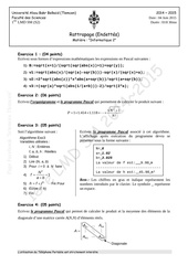 rattrapage info2 endettes sm 2014 2015