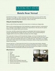 hotels near vernal