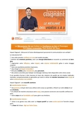 resume videos 1 a 3 impact gagnant