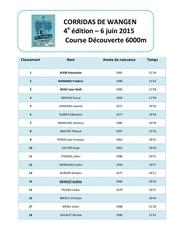 microsoft word classement course decouverte 2015