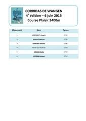 microsoft word classement course plaisir 2015