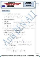 correction maths