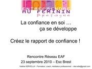eaf 230910 participants le rapport de confiance