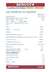 Fichier PDF menu bengui s