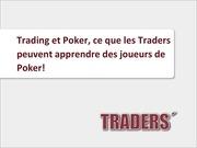 poker et trading