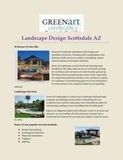 landscape design scottsdale az