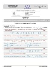 algebre1 cf correction 2012