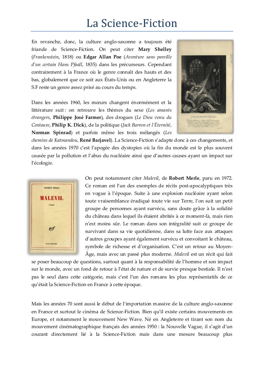 La Science Fiction - Culture G.pdf - page 2/5