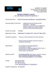 training in maribor