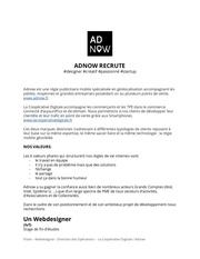 fichedeposte webdesignerstage