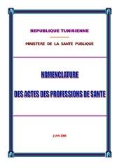 Fichier PDF nomenclature des actes 2