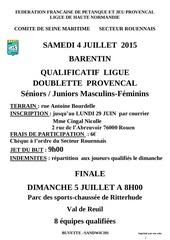2015 07 04 barentin qualif ligue doubl prov