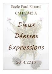 album dieux et deesses des cm1cm2