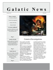galatic news 1ere editions
