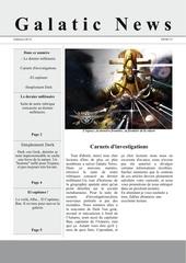 galatic news 2eme editions