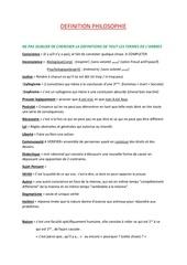 Fichier PDF definition philo
