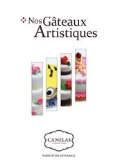 canelas 2015 gateaux artistiques bd