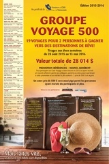groupe voyage 500 edition 2015 2016