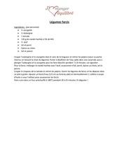 Fichier PDF legumes farcis