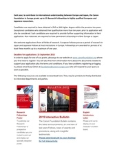 canon foundation research fellowships